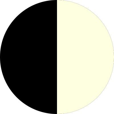 Noir/Ecru